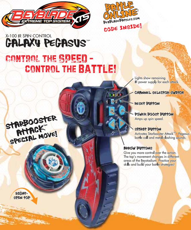Galaxy Pegasus Ir Spin Control Beyblade Wiki Fandom