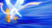 Pegasus breaks through