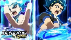 BEYBLADE BURST TURBO Episode 5- Turbo Match! Valtryek Vs Luinor!