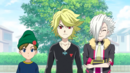 Burst Turbo E2 - Fubuki, Suoh, and Hayao