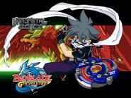 Kai Hiwatari & Dranzer Metal Spiral