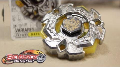 Hasbro Beyblade VariAres 145WB Metal Fury - UNBOXING & REVIEW!!