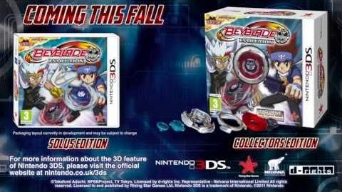 Beyblade Evolution (3DS) - Trade Trailer