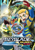Beyblade Burst Rise English Poster