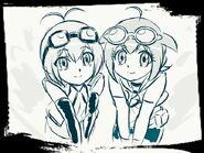 Matilda and Madoka fanart