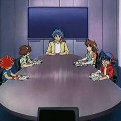 Das Besprechungszimmer