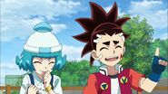 Aiga and Naru sibling moment