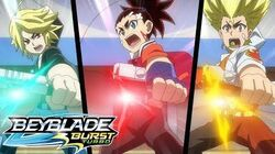 BEYBLADE BURST TURBO Episode 6- Winter Knight! Battle Royale!