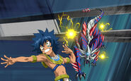Beyblade Burst Turbo Laban Vanot and Vise Leopard Avatar USA Website Poster