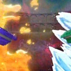 Kai bekämpft Wasser mit Feuer.