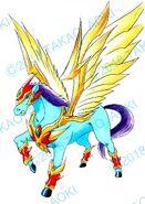 Bey Manga, Thunder Pegasus