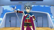Xavier's royal appearance
