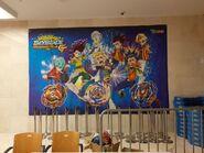 Beyblade Burst Rise wallpaper