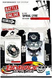 Beyblade Metal Fury Spiral Lyre