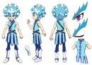 Beyblade Burst Chouzetsu Lui Shirasagijo Concept Art 2