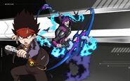 Beyblade Burst Daigo Kurogami and Dark Doomscizor Avatar USA Website Poster