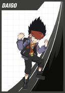 Daigo's Beyblade Burst card