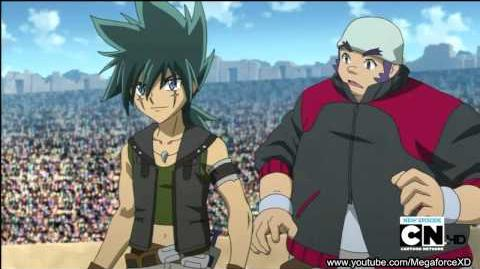BeyBlade Metal Ep 10 (English Dub) A New Roar!