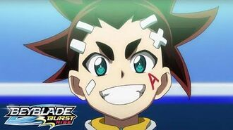 BEYBLADE BURST RISE Episode 13 Part 1 The Final Stage! Facing Aiger!