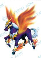 Bey Manga, Torch Flame Pegasus settei
