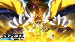 BEYBLADE BURST TURBO Episode 43 - Lord of Destruction! Dread Phoenix!