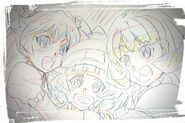 Naru, Nika, and Ichika fanart