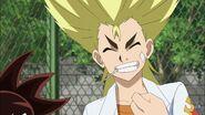 Ranjiro grinning