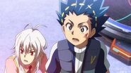 Valt and Shu in awe