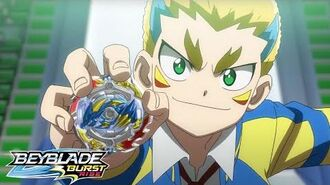 BEYBLADE BURST RISE Episode 14 Part 1 Shining Bright! Hyper-Flux!