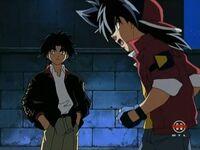 Hiro spricht mit Tyson