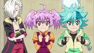 Toko and Nika cute smiles