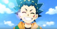 Valt's sunny grin