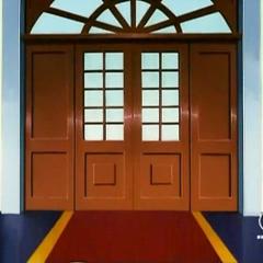 Der Eingang zum Restaurant