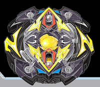 BB Zillion Zeus Infinity Weight Beyblade
