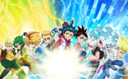 Beyblade Burst Sparking Campaign Completed Longways Poster