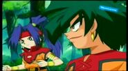 Beyblade V-Force - Max & Ray vs Mariam & Joseph 330096