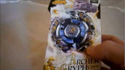 Beyblade Zero G Archer Gryph UNBOXING!