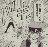Ginga pwns Reiji Manga