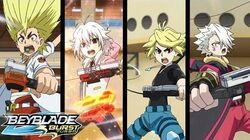 BEYBLADE BURST TURBO Episode 48 Blading Together! Turbo Awakening!