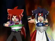 Beyblade V-Force Team Psykick Movie Arc.1 19133