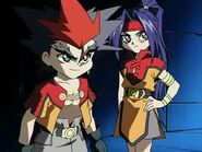 Beyblade V-Force Team Psykick Movie Arc - Kai vs Goki 171067