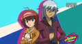 Madoka and Tsubasa Zero-G