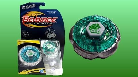 Beyblade Legends BB-30 Rock Leone Review Unboxing Giveaway Expires July 27th 2014