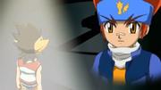Gingka inspires Sora