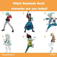 Beyblade Burst Rise characters