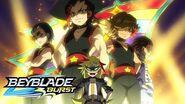 BEYBLADE BURST Meet the Bladers Superstars Team