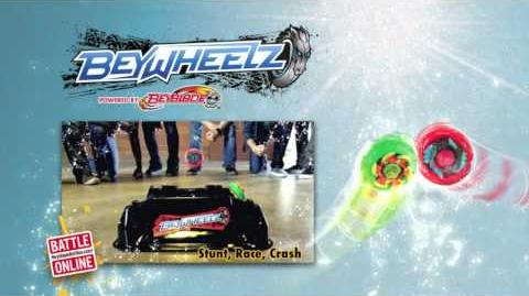 "Beyblade ""Stunt, Race, Crash"" Music Video"