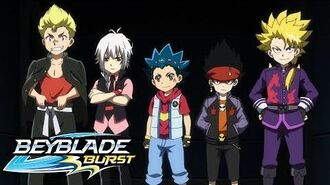 BEYBLADE BURST Meet the Bladers Beigoma Team