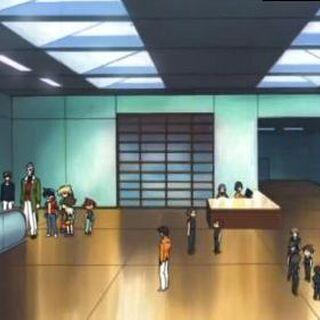 Eingangshalle mit Rollbänder