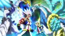 Beyblade Burst Gachi Zwei Longinus Drake Spiral' Metsu vs Rock Dragon Sting Charge Zan